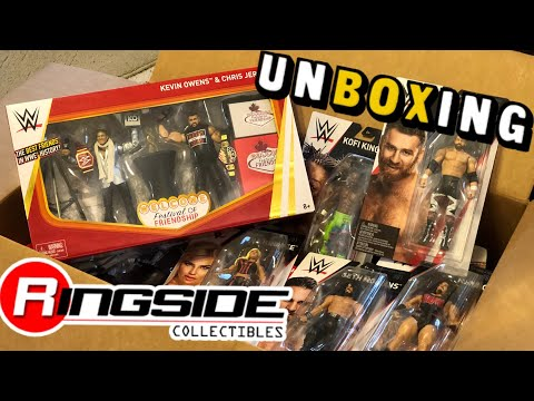 FESTIVAL OF FRIENDSHIP UNBOXING! Ringside Collectibles WWE Elite Figure MOTHERLOAD!
