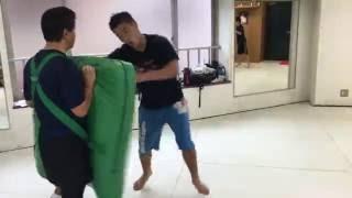極真会館総本部道場 選手クラス.