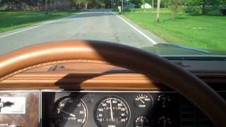 1979 Hurst Olds FOR SALE SOLD Video 3 of 3 THE TEST DRIVE