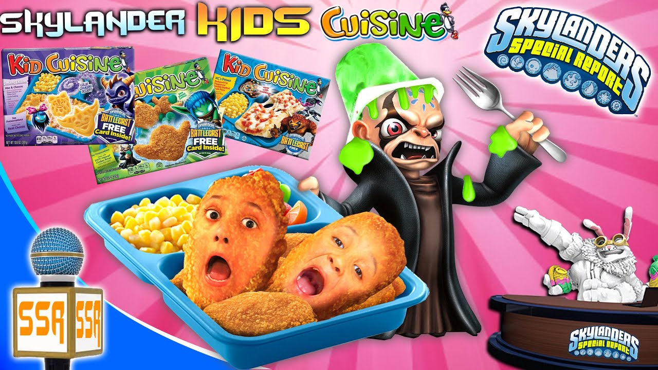 Skylanders special report 1 kid cuisine meals kaos for Are kid cuisine meals healthy