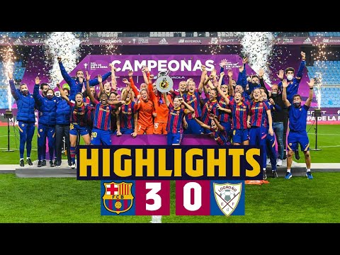 HIGHLIGHTS | Barça 3-0 Logroño | Victory in the Copa De La Reina final!! ???