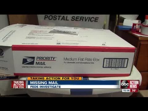 Reports Of Missing Mail In Tampa Lead To US Postal Service Investigation