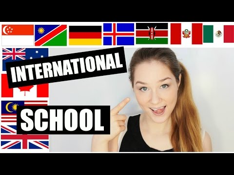 My International School Experience | KatChats