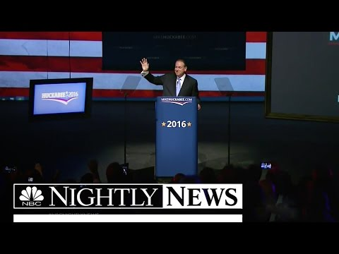Mike Huckabee Joins 2016 Presidential Race | NBC Nightly News