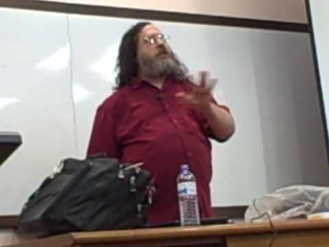 Brian Aker asks Richard Stallman about MySQL and the GPL at foss.my 2009