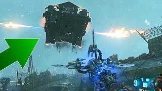 FLYING ORIGINS TANK! Zombies Moments #41 Call of Duty Black Ops 3 Bug Clutch Gameplay