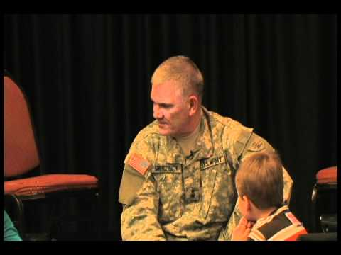 Kids Quiz the Adjutant General