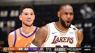 Los Angeles Lakers Vs Phoenix Suns Full GAME 4 Highlights   2021 NBA Playoffs