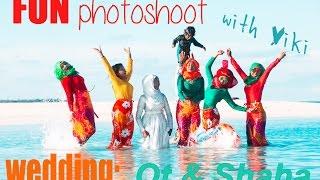 Muslim wedding photo–shoot : мусульманская свадебная фотосессия МАЛЬДИВЫ(our fun wedding photoshoot однажды мы отправились на фотосессию на песчаную косу! un reportaje de boda musulmana en Maldivas., 2016-02-01T00:01:42.000Z)