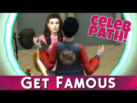 The Sims 4 Get Famous - FIRST CELEB GIG & DRAMA! #2 (Celebrity Path)