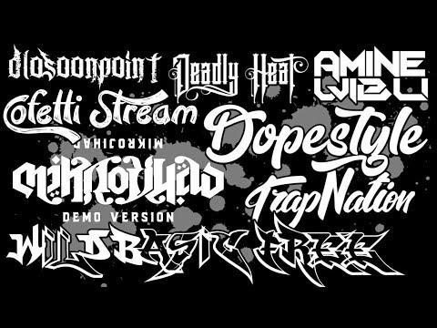 Kumpulan font keren untuk logo yang sering digunakan editor untuk membuat logo atau watermark ||.