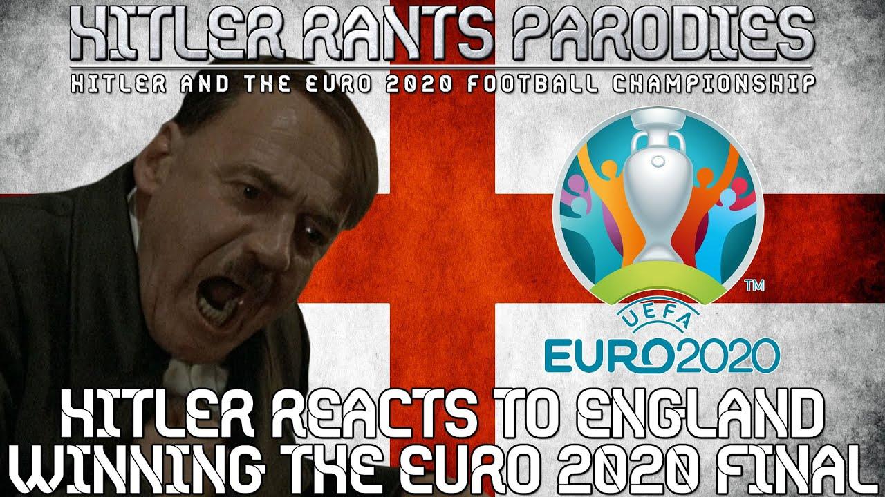 Hitler reacts to England winning the Euro 2020 Final (Alternative Universe)