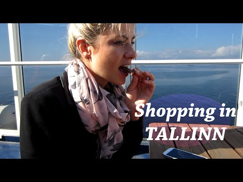#FinlandVlogs Shopping in Tallinn