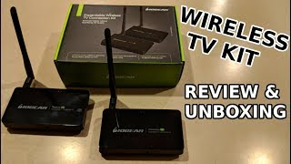 IOGEAR Wireless HD TV Connection Kit Review and Unboxing