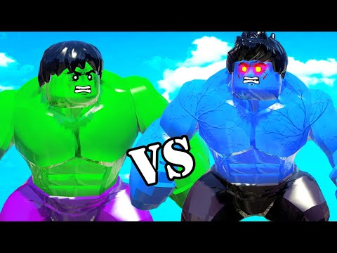 LEGO HULK VS BLUE HULK - EPIC BATTLE