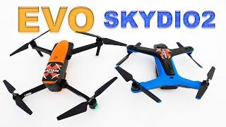 Drone Cameras 4K 60 FPS - Autel EVO and SKYDIO 2