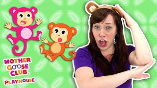 Five Little Monkeys Jumping on the Bed + More | Mother Goose Club and Friends