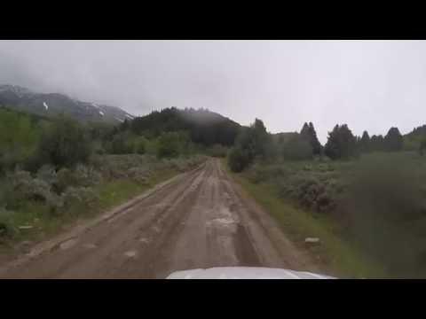 Dirt road Drive - Avon to Liberty, Utah