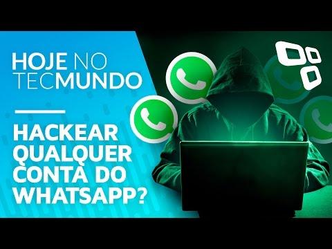 Grupo descobre como hackear e acessar qualquer conta do WhatsApp - Hoje no TecMundo