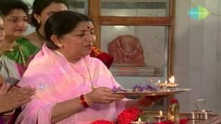 Ganpati Aarti - Sukhkarta Dukhharta - Lata Mangeshkar - Devotional Song - Marathi Song.mp3