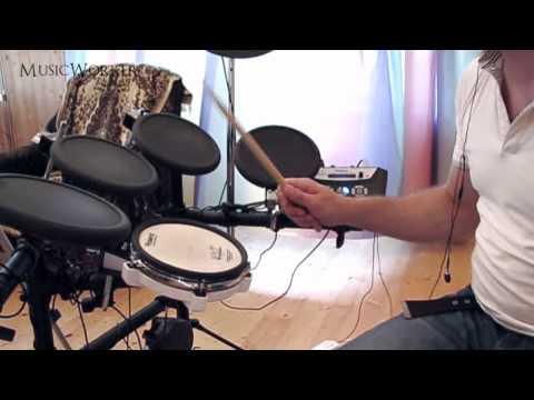 Барабанная дробь двойками   Как научиться играть (ч. 13)