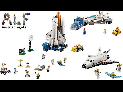 All Lego City Space Sets 2015 - Lego Speed Build Review