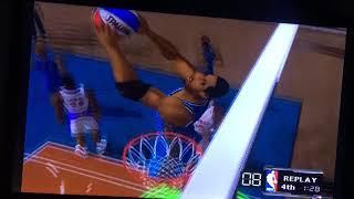 NBA Courtside 2002 Arcade Play Mode - Orlando Magic VS Toronto Raptors (Part 4/4th Quarter)