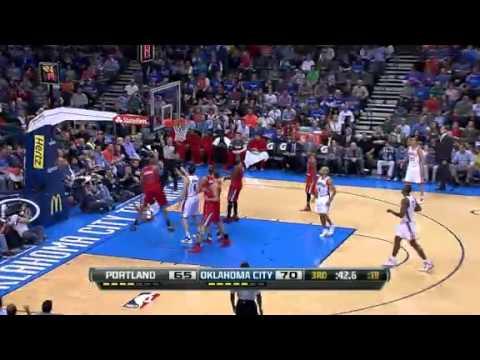 Portland Trail Blazers vs Oklahoma City Thunder - March 24, 2013