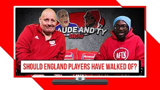 Should The England Players Have Walked Off In Bulgaria?? | Claude & Ty Show