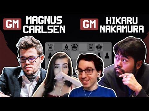 Magnus Carlsen VS Hikaru Nakamura Lindores Abbey SF I Commentary Hess & WFM Botez
