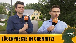 Wie rechts ist Sachsen? Lutz van der Horst und Fabian Köster fahren Richtung Ostopia!