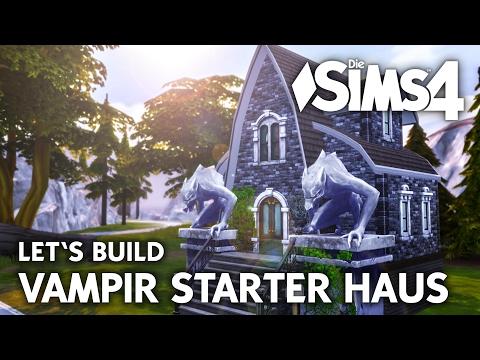 Die Sims 4 Vampir Starter Haus bauen | Vampire Gameplay Pack Grundstück (deutsch)