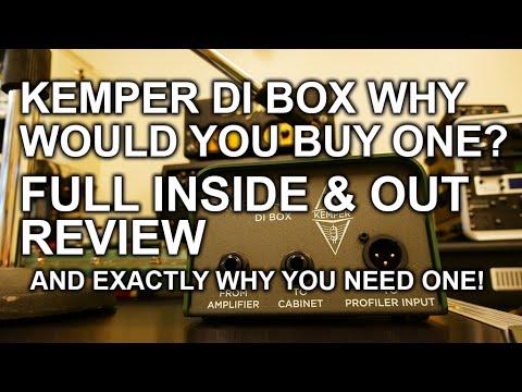Kemper DI Box Inside and Out Review tonymckenzie com