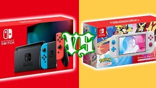 New Nintendo Switch VS Switch Lite