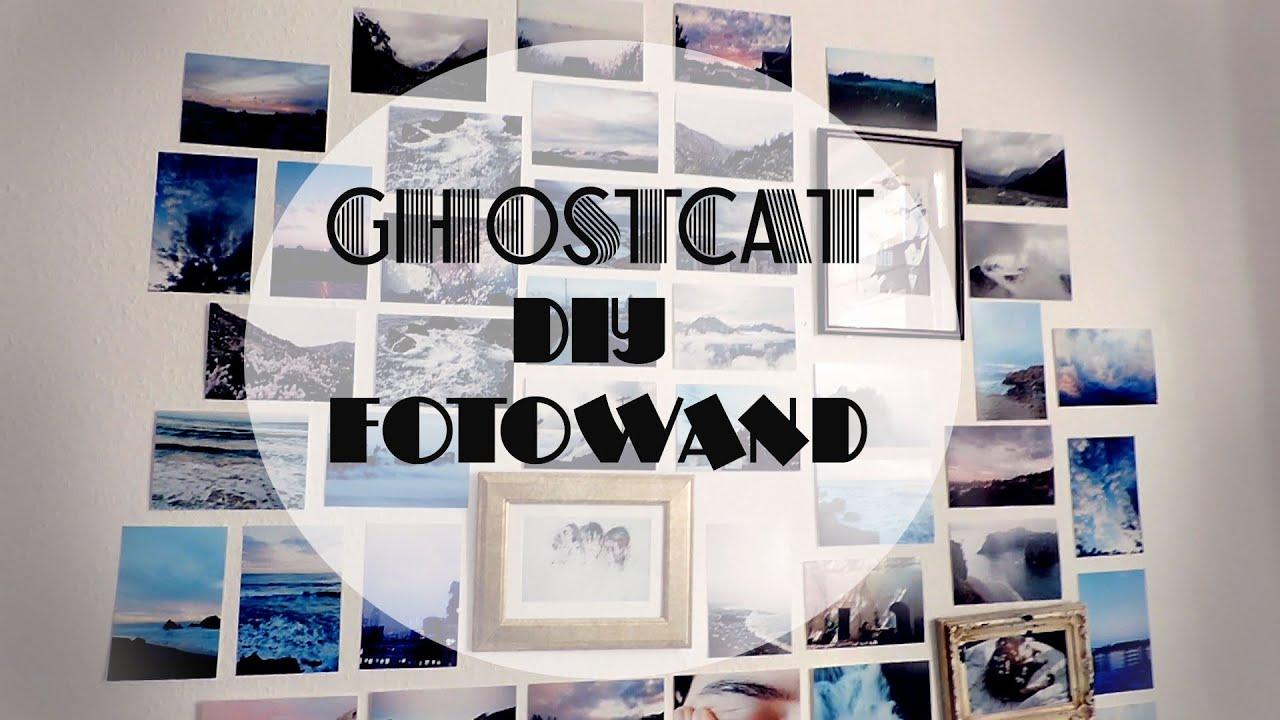 ghostcat diy fotowand youtube. Black Bedroom Furniture Sets. Home Design Ideas