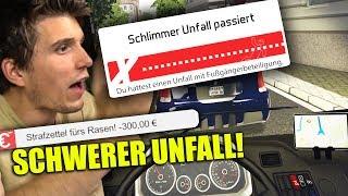 SKANDAL! SCHWERER UNFALL MIT EINEM FUßGÄNGER! ✪ BUS SIMULATOR 2016