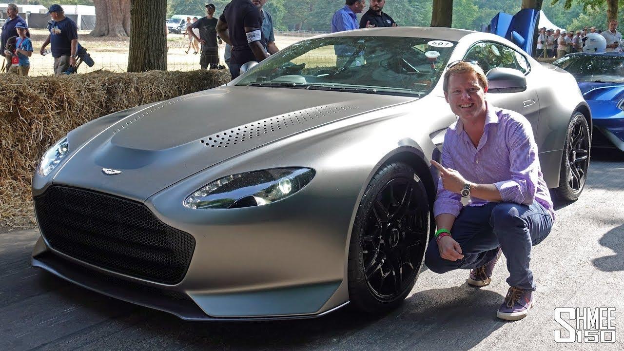 The 1m Aston Martin Vantage V600 Says Farewell To An Era Youtube