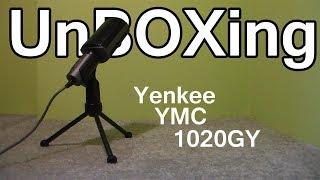 (*Profesionální*) UnBOXing Mikrofonu Yenkee YMC 1020GY