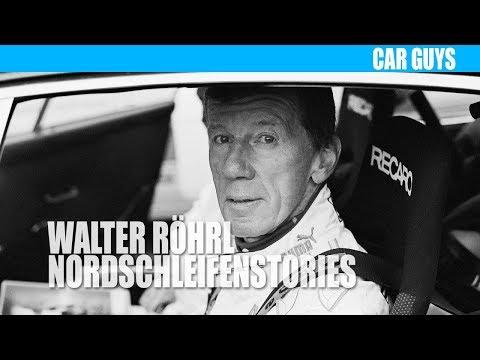 Walter Röhrl trifft einen bekannten Formel-1 Fahrer auf der Nordschleife...