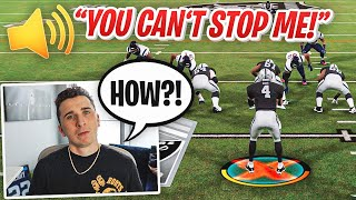 I played a NFL Superstar who only uses his own player, it was crazy!