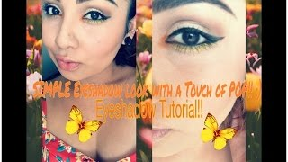 SIMPLE Eyeshadow Look with a Touch of POP! Thumbnail