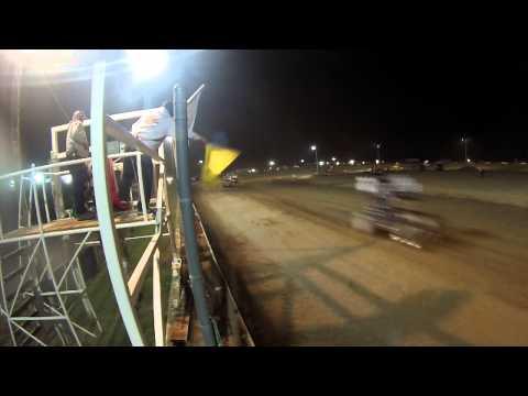 8.28.15 Attica Raceway Park 410 Sprints A Main