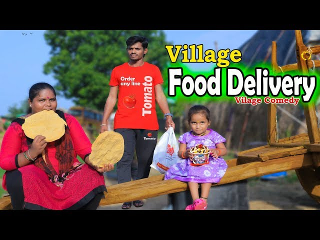 Village food delivery | Ultimate village Comedy |Creative Thinks