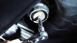 DIY Oil Filter change Toyota Sienna 2006 2007 2008 2009 2010