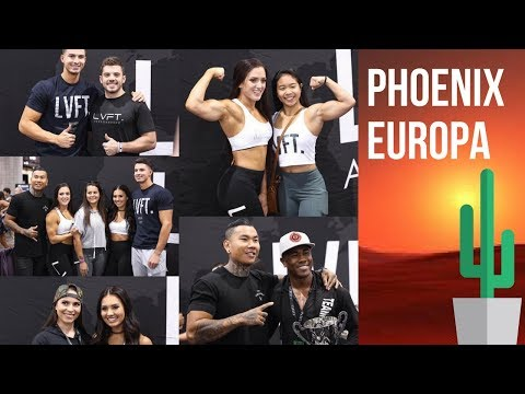 WHEN THE CAMERA STOPS ROLLING... Live Fit Apparel Road Trip to Phoenix Europa