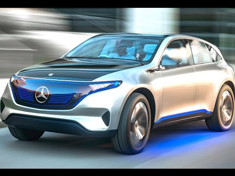 Mercedes Eq Commercial World Premiere Mercedes Electric Car