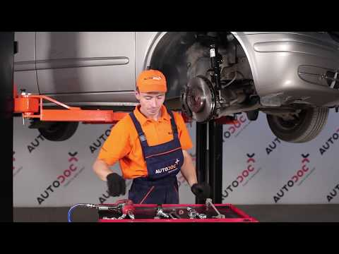 How to replace Front Anti Roll Bar Link on MERCEDES-BENZ VIANO W639 TUTORIAL | AUTODOC