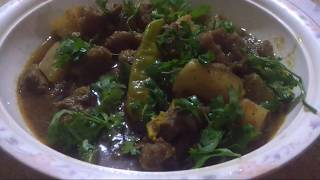 Shaljam Gosht (Turnip curry)