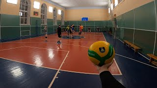 Волейбол от первого лица | VOLLEYBALL FIRST PERSON | BEST MOMENTS | 48 episode