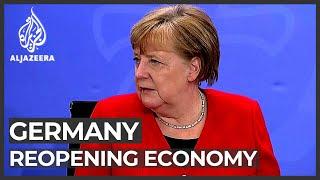 Germany lockdown Gradual reopening as virus cases taper off